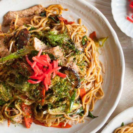 66. Vegetable Yaki Soba