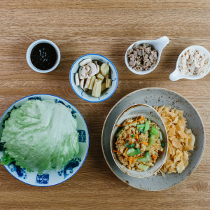 Chin & Chow's Lettuce Wraps