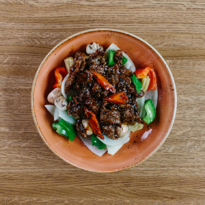 Singapore Black Pepper Beef