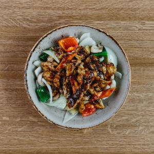 Singapore Black Pepper & Garlic Chicken