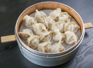 24. Pork and Leek Dumplings