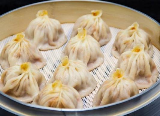 22. Pork, Leek, and Shrimp Soup Dumplings
