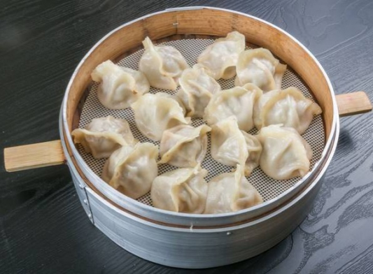 31. Vegetable and Tofu Dumplings