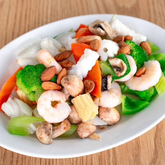 108. Seafood and Vegetables