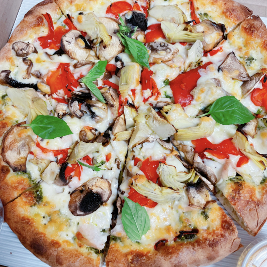 Pesto Italiano Pizza (GF) (Medium)