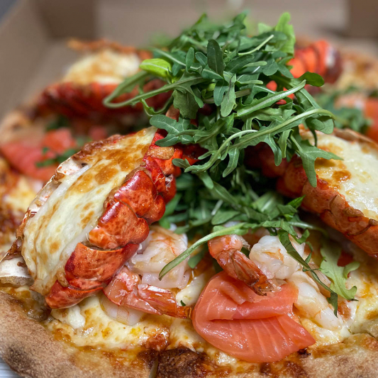Lobster Pizza