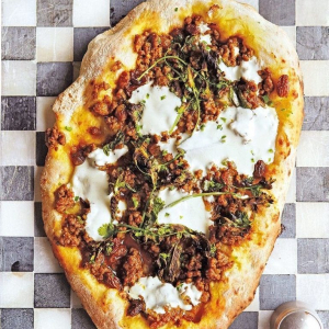 Cumin Lamb and Flatbread
