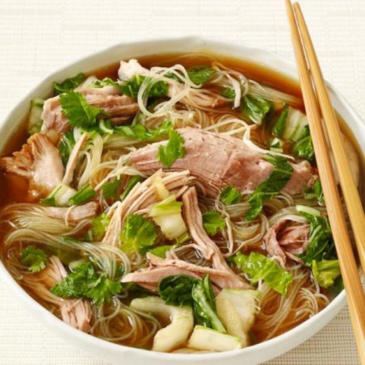 Shredded Pork Noodle Soup