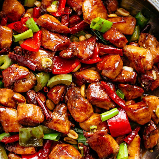 Chicken with Chili Peppers