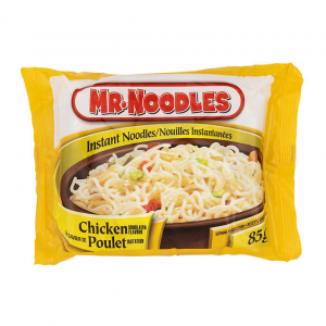 Package of Mr. Noodles