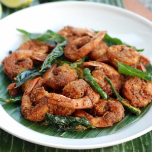 Shrimp Pepper Fry