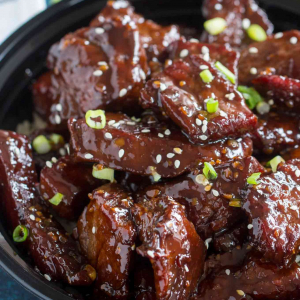 054. Honey Garlic Beef
