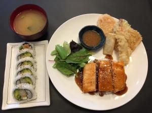 Salmon Teriyaki Combo