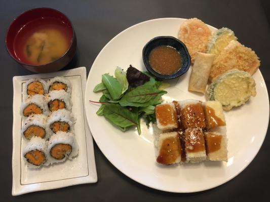 Tofu Teriyaki Combo