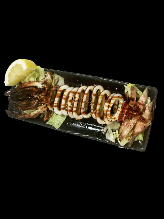 B5. Ika Sugata Yaki - B.B.Q. Whole Squid