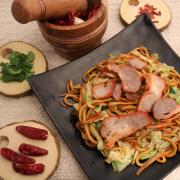 301. BBQ Pork Chow Mein 叉烧炒面