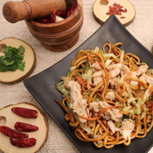 302. Chicken Chow Mein 鸡肉炒面