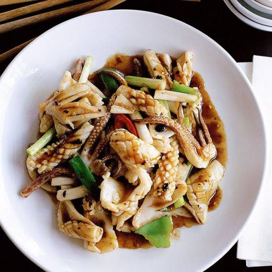 Stir-Fried Squid with Cumin