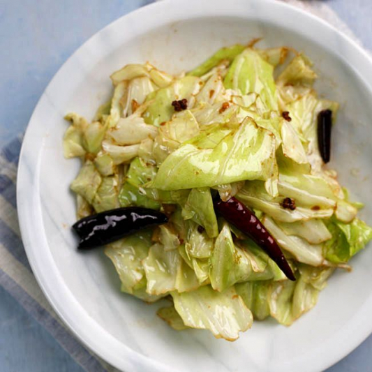 Stir-Fried Shanghai Cabbage